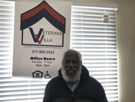 After experiencing homelessness for a few months in 2020 - Army veteran Bruce Knox became the first tenant at HVAF's Veterans Villa!