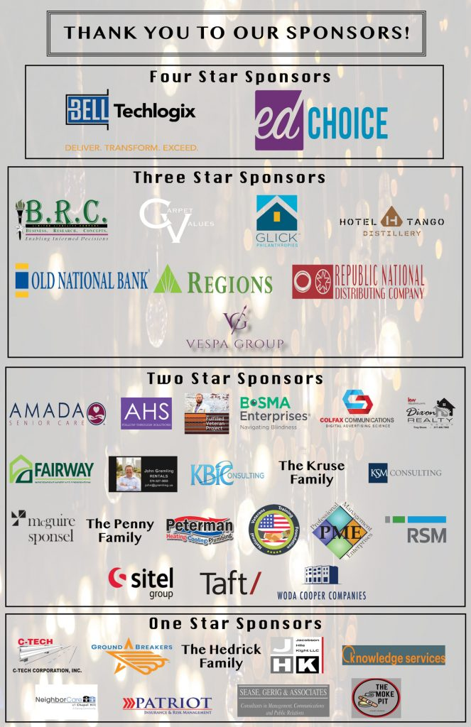 Thank you to our one, two, three, and four star sponsors for HVAF's Operation Alpha 2020!