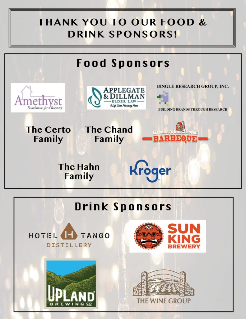 Thank you to our food & drink sponsors for HVAF's Operation Alpha 2020!